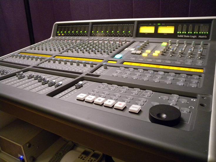 SSL Matrix 1, 16 channel high end console