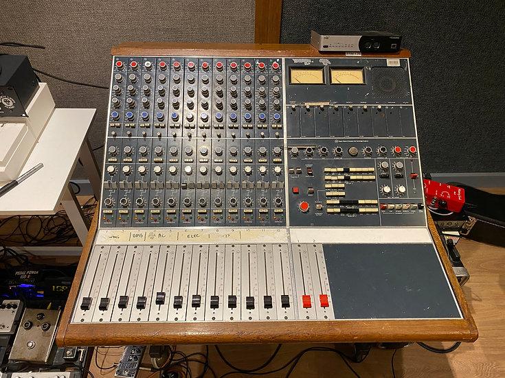 "Neve ""Melbourn"" 12 channel original super console"