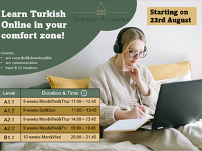 Learn Turkish Language Online