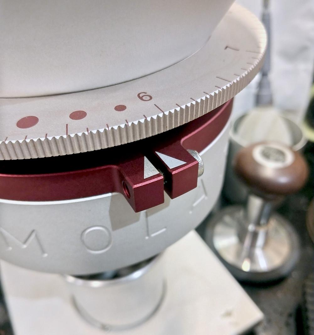 磨豆機的刻度是自身的相對參考值,不能僅以單獨的數字判斷研磨粗細
