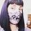 Thumbnail: Black Lace Mask Size M