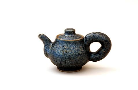 Kim Syyoung's Black ceramic Teapot