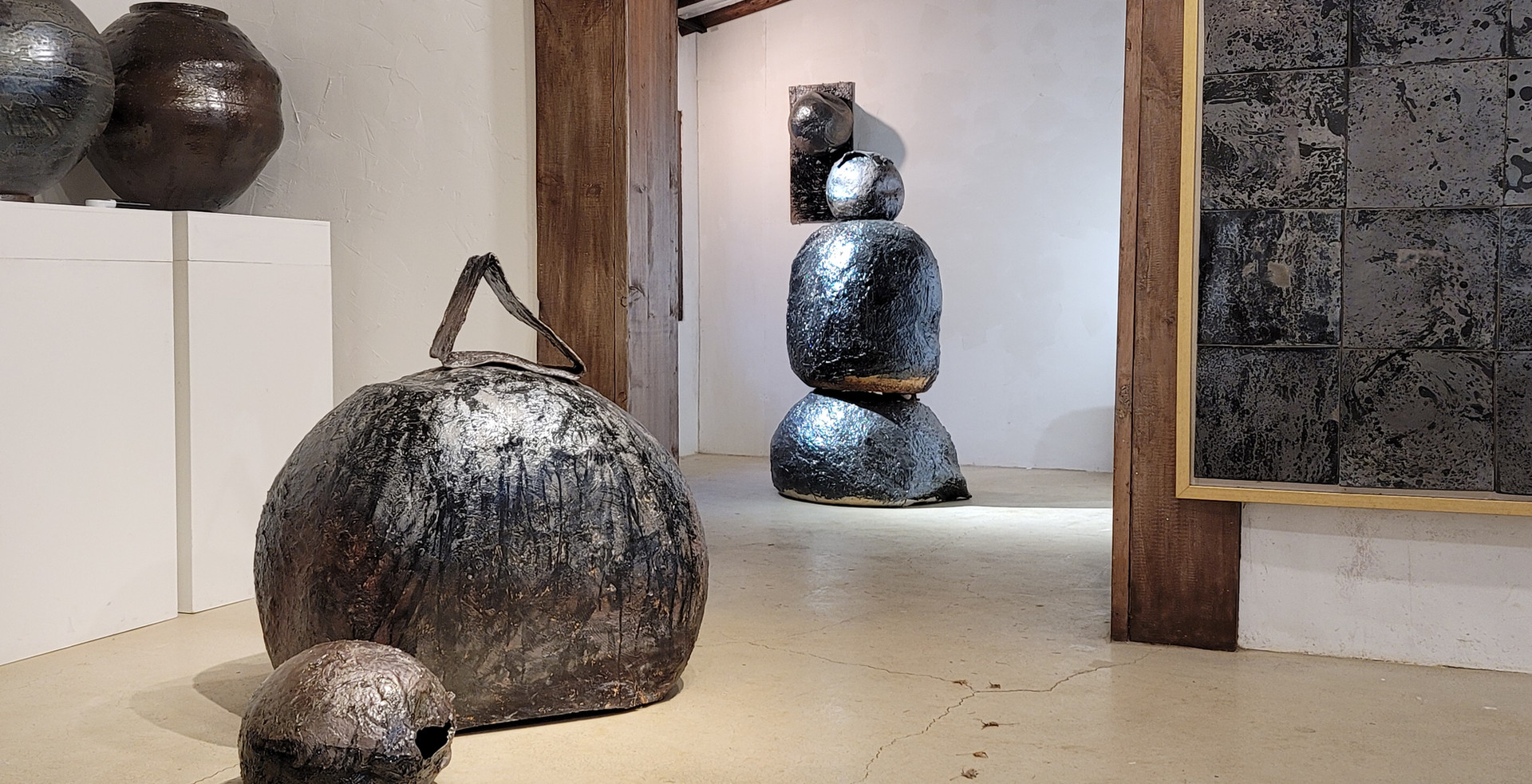 sculpture&firepaintin