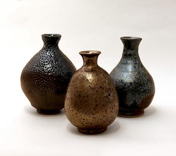 Kim Syyoung's Black ceramic Bottle