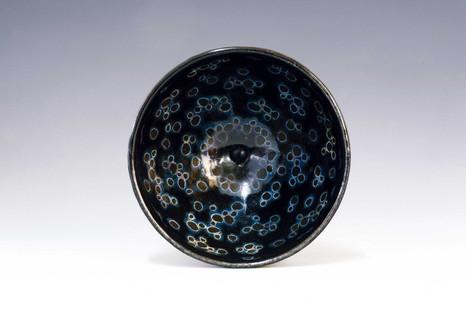 Kim Syyoung's Black ceramic CHAWAN(tea bowl_DAWAN)