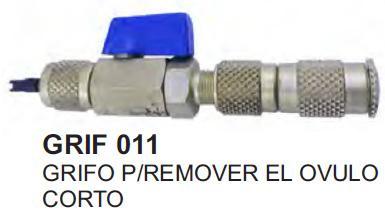 GRIFO P/ REMOVER OVULO CORTO