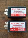 RELAY DOBLE 24 V
