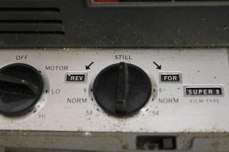 Vintage film projector