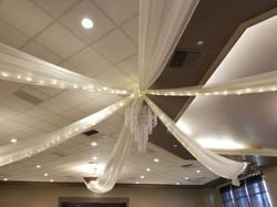 Ceiling w lights