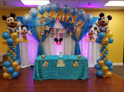 Mickey Mouse Blue & Gold
