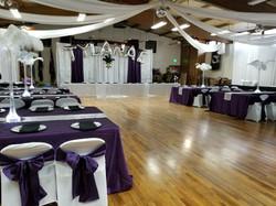 Sweet 16 Purple & White 2