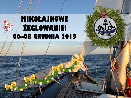Mikołajkowe żeglowanie 6-8 grudnia 2019