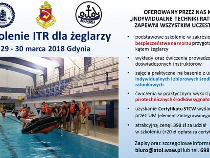Szkolenie ITR - marzec 2018