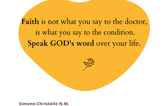 Quotes Simtelle 29 Faith is not what you say to the doctor.png