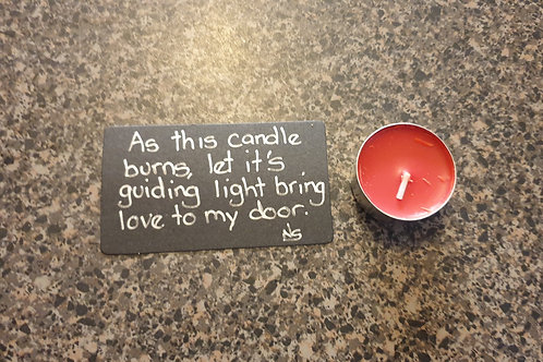 Love Blessing Candle
