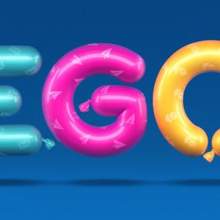 Ego lettering
