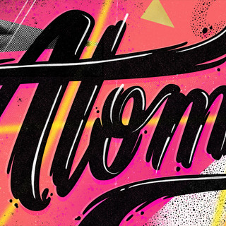 Atomic lettering