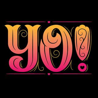 Yo! lettering