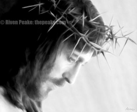 Christ by Riven Peake