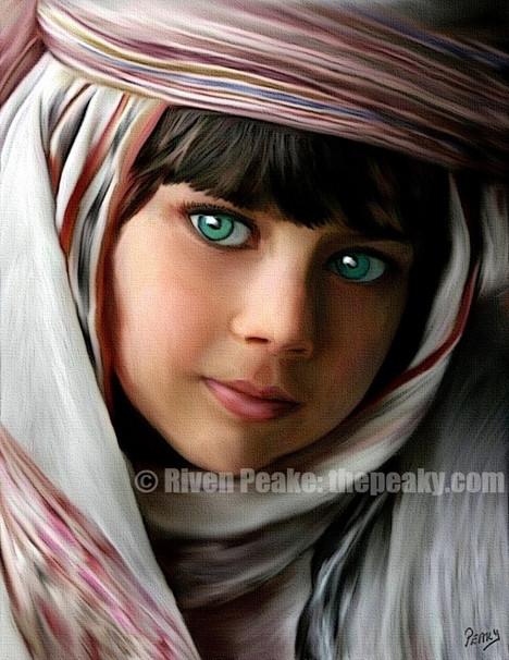 Little Arabian Princess by Riven Peake
