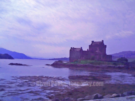 Eilean Donan Castle by Riven Peake