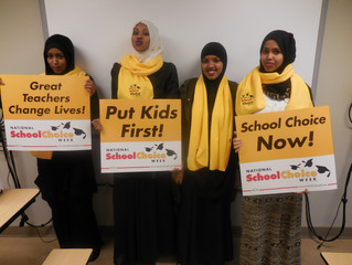 Focus North Shows School Choice Pride