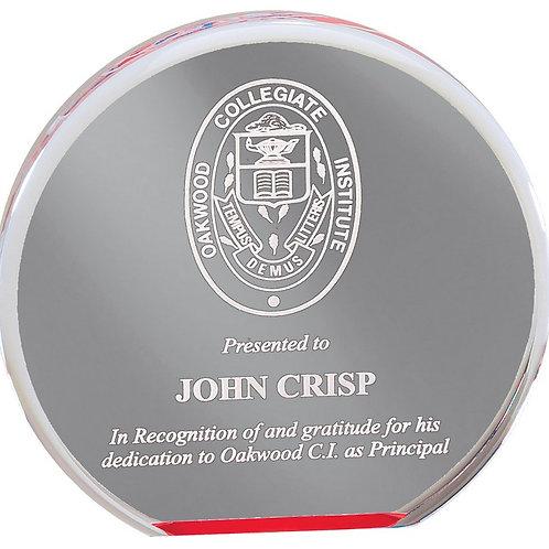 Circle Award -Red