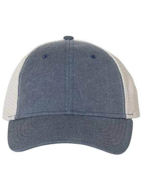 Pgment-Dyed Trucker Hat