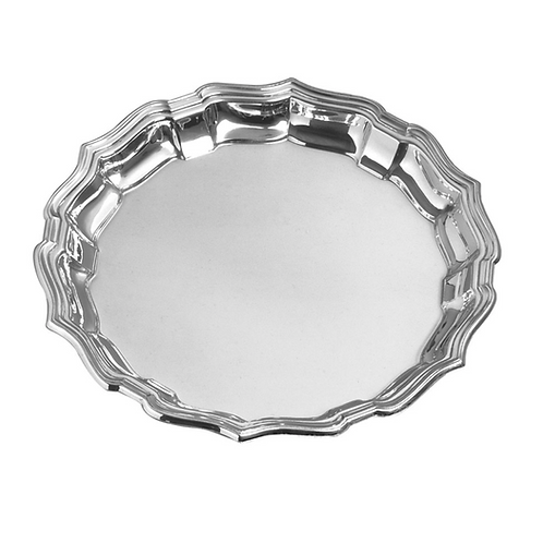 Pewter Chippendale Tray