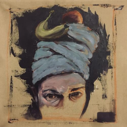Morning Muse / Acryl. Canvas/ 50x 50 cm / 2019
