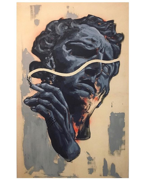 Dyonisos / Acryl,Canvas /100x160cm /2019