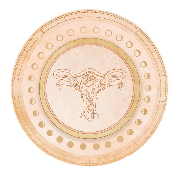 Lunarina-Lunar-Menstrual-Chart-Uterus-Ar