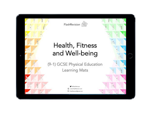 (9-1) GCSE PE; Health, Fitness and Well-being Learning Mat (PDF)