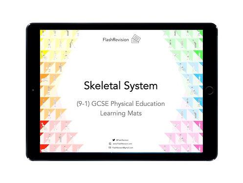 (9-1) GCSE PE; Skeletal System Learning Mat (PDF)