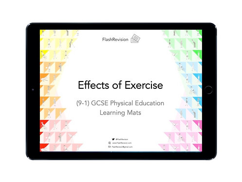 (9-1) GCSE PE; Effects of Exercise Learning Mat (PDF)