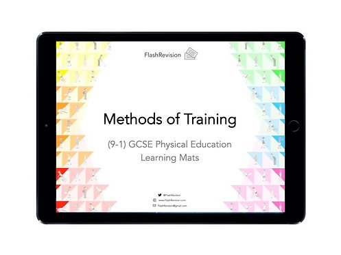 (9-1) GCSE PE; Methods of Training Learning Mat (PDF)