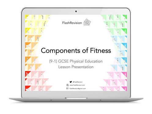 (9-1) GCSE PE; Components of Fitness Lesson Presentation (PPT)