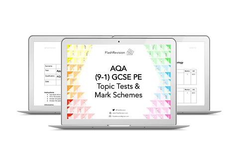 (9-1) AQA GCSE PE Topic Tests and Mark Schemes (PDF)