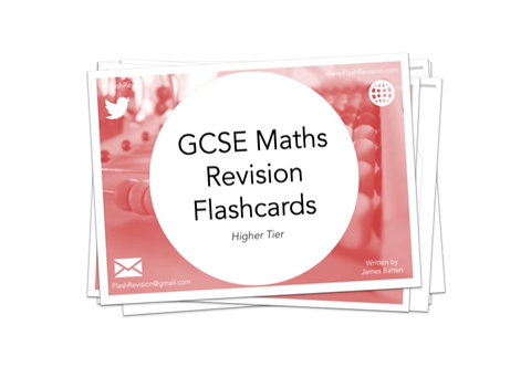(9-1) GCSE Maths (Higher) Revision Flashcards