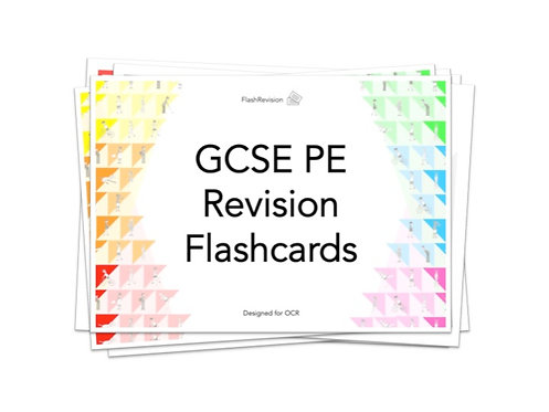 OCR (9-1) GCSE PE Revision Flashcards