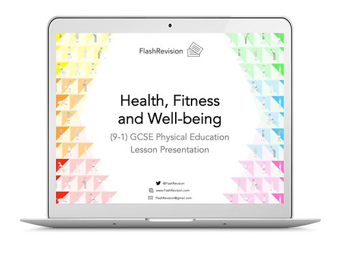 (9-1) GCSE PE; Health, Fitness and Well-being Lesson Presentation (PPT)