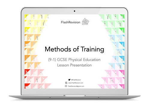 (9-1) GCSE PE; Methods of Training Lesson Presentation (PPT)