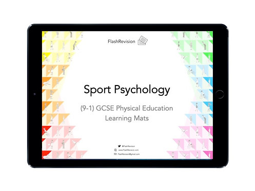 (9-1) GCSE PE; Sport Psychology Learning Mat (PDF)