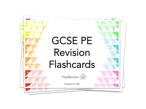AQA (9-1) GCSE PE Revision Flashcards