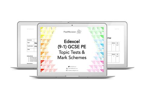 (9-1) Edexcel GCSE PE Topic Tests and Mark Schemes (PDF)