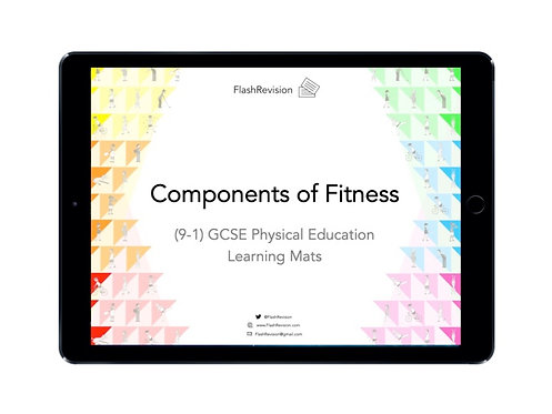 (9-1) GCSE PE; Components of Fitness Learning Mat (PDF)