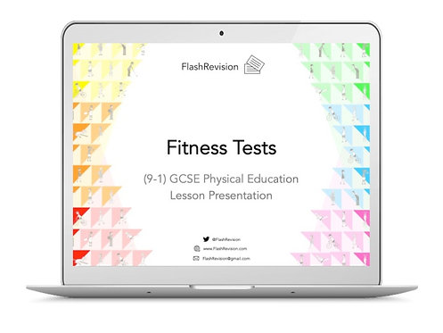 (9-1) GCSE PE; Fitness Tests Lesson Presentation (PPT)