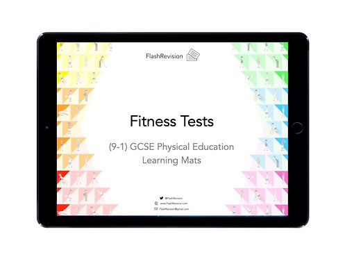 (9-1) GCSE PE; Fitness Tests Learning Mat (PDF)
