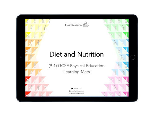 (9-1) GCSE PE; Diet and Nutrition Learning Mat (PDF)