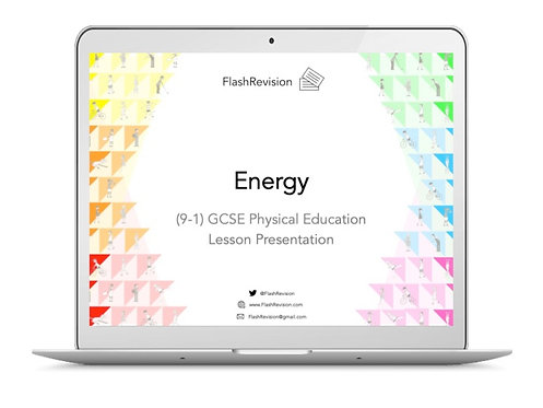 (9-1) GCSE PE; Energy Lesson Presentation (PPT)